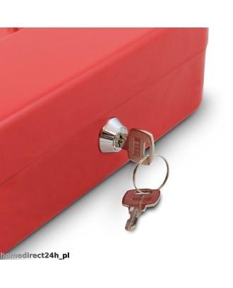 Pinigų dėžutė-dėklas 25 cm (raudona)